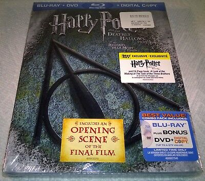 Harry Potter & The Deathly Hallows P.1 (2011) Best Buy Exclusivo con / Folleto