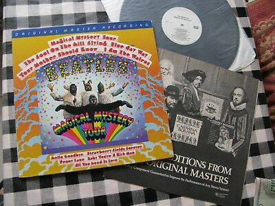 Mint Beatles Magical Mystery Tour-Mfsl Mastered Audiophile Press Audio Superb!!