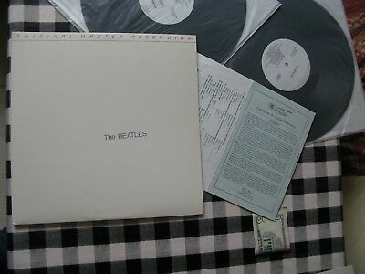 Mint!! Beatles White Album 2 Lp- Mfsl Mastered Audiophile Press Audio Superb!!