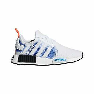 a90ffc2b5ba03 adidas Originals NMD R1 - Boys  Grade School White Bold Blue Core Black