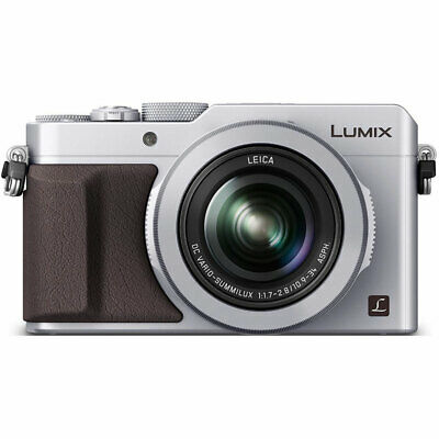 Panasonic LUMIX LX100 Integrated Leica DC Lens Silver Camera