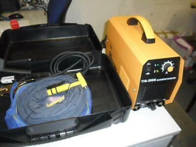 TIG  WELDER ARC WELDER 200k in bmc box  2 YEAR WARRANTY last few clearance price