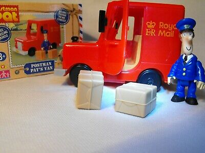 Postman Pat Toy Boys Toy Red Royal Mail Parcel Delivery With Van Pat Figure New
