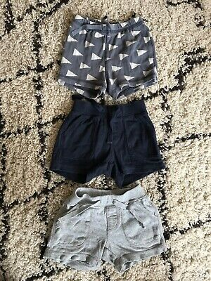 3 Pairs of Baby Gap Shorts, 3-6 Months