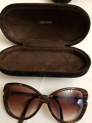 655539f420 Tom Ford Butterfly TF 324 50F Linda Interlaced Brown   Brown Gradient  Sunglasses