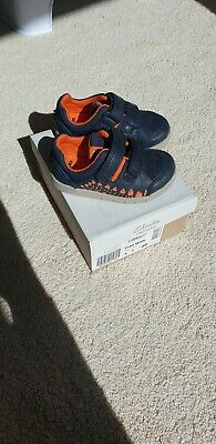 8775fd6ffa6 Boys/Infant CLARK'S FIRST SHOES . Size UK 4F. Smart casual. Excellent  Condition