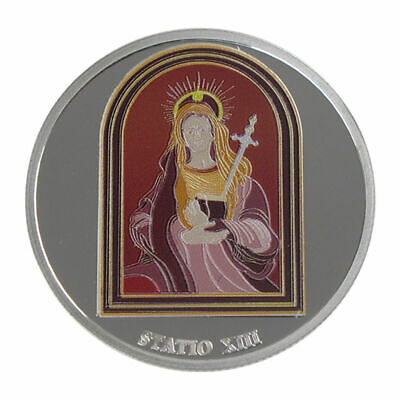 1 Oz silver.999 Medal - Via Dolorosa Stations - Mary lamenting Jesus Death
