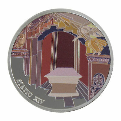 1 Oz silver.999 Medal - Via Dolorosa Stations - Jesus laid in tomb