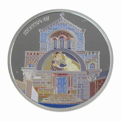 1 Oz silver.999 Medal - Via Dolorosa Stations - Jesus Meets Mother