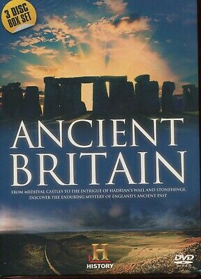 Ancient Britain 3 Dvd Box Set Lost Castles, Hadrians Wall, Stonehenge New Sealed