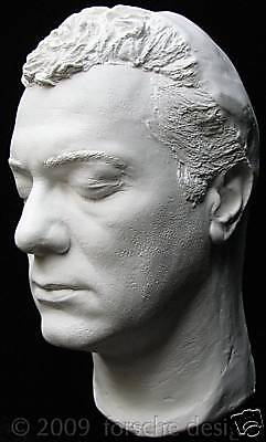 Tony Curtis Life Mask Bust Sculpture: Some Like It Hot, Sweet Smell of Success