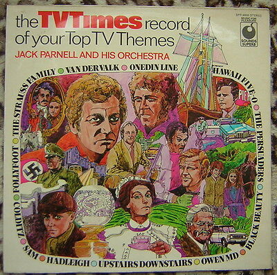 Jack Parnell and his Orchestra - The TV Times Record of your Top TV Themes Vinyl