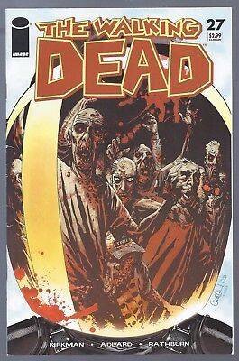 The Walking Dead #27 Governor 1st Appearance Image 2006 Key TWD Modern Age Scan