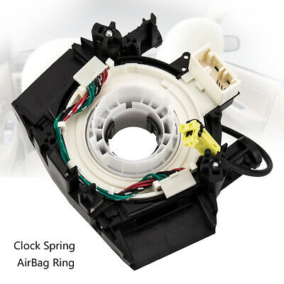 Airbag Spiral Cable Clock Spring Squib Ring For Nissan Navara X-Trail