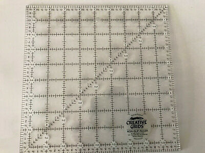 Turn-a-Round Creative Grid Ruler~ sewing & quilting