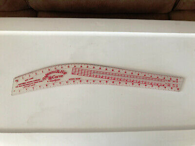 Seam & Hip Curve Ruler Guide ~ sewing & quilting ruler