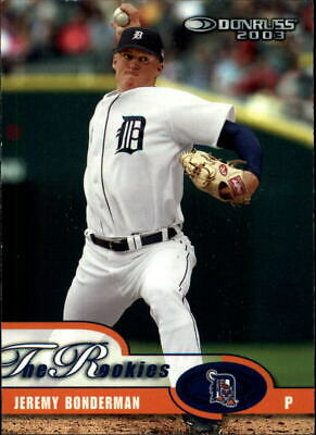 2003 Donruss Rookies BASE, PARALLEL Baseball Cards Pick From List