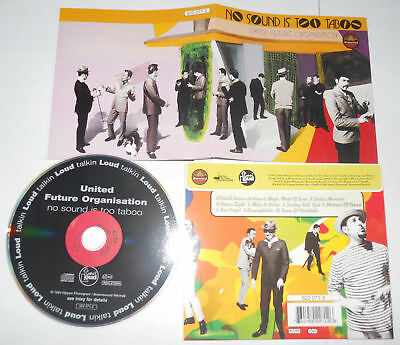 UFO - NO SOUND IS TOO TABOO (1994 Brownswood 522 271-2) - CD..