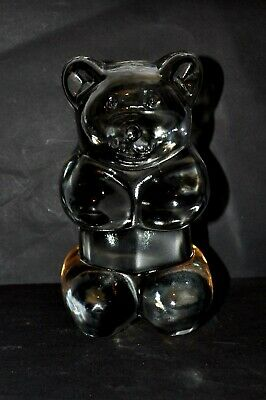 Large Art Glass Gummy Bear Teddy Bear paperweight/book end (RARE) LAST CHANCE