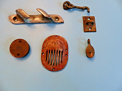 Mixed Lot of Marine Fittings, and parts