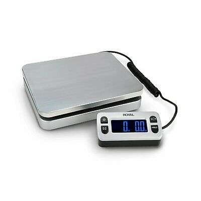 Royal DG110 Shipping Postal Scale 110 lb. Capacity Wired Remote Display USB