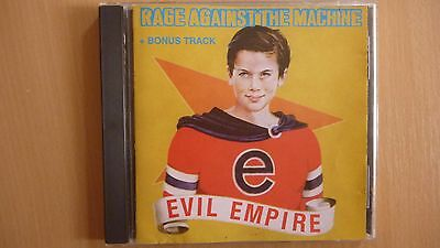 Rage Against The Machine - Evil Empire BULGARIAN SILVER CD 1998 ...FREE SHIPPING