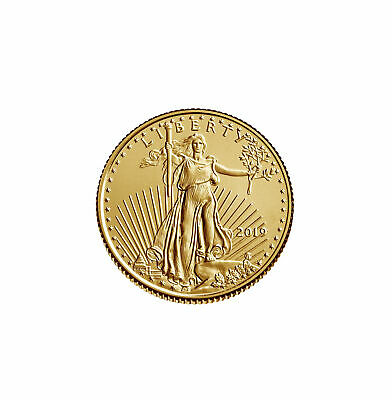 2019 - $5 1/10oz Gold American Eagle BU