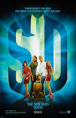 "Scooby Doo movie poster (a)  -  11"" x 17"" inches - Sarah Michelle Gellar"