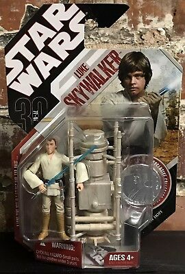 Star Wars Luke Skywalker 30th Anniversary TAC Farmboy #18 Vaporator ANH 3.75""