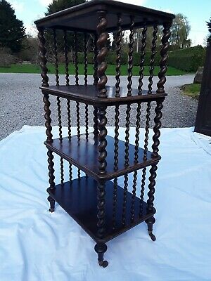 Late Regency Rosewood Libary Whatnot Stand. Circa 1820.