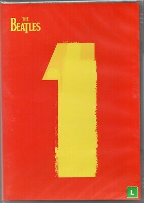 The Beatles DVD 1 Brand New Sealed Made In Brazil First Pressing