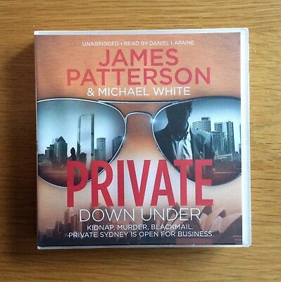 Private Down Under by James Patterson CD Audiobook