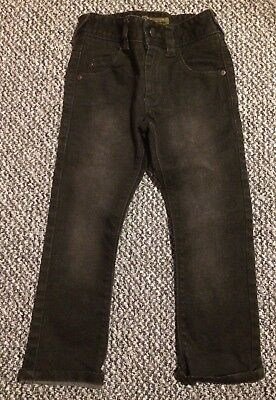 Boys Black Next Skinny Jeans 3 Years With Adjustable Waistband