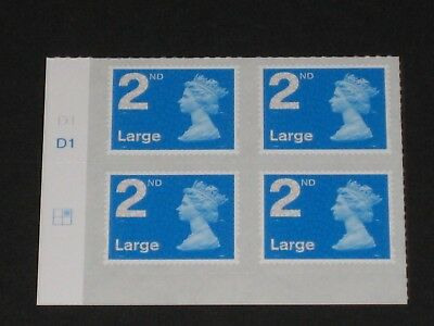 2016 M16L Second 2nd Large Cylinder Block of Four Stamps - Position: Right 1