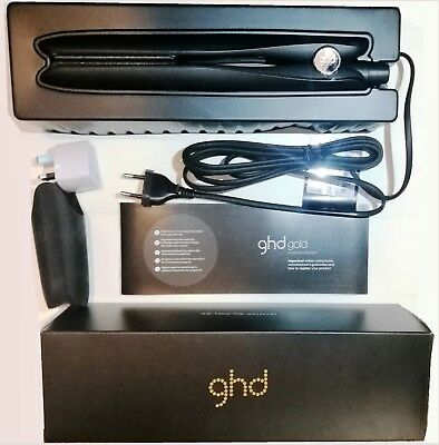 NEW Genuine GHD Gold Professional Styler with Replacement Box with Warranty