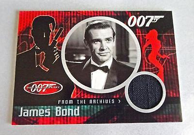 SEAN CONNERY JAMES BOND CC1 DR NO Movie CASE TOPPER COSTUME CHASE CARD 007 40