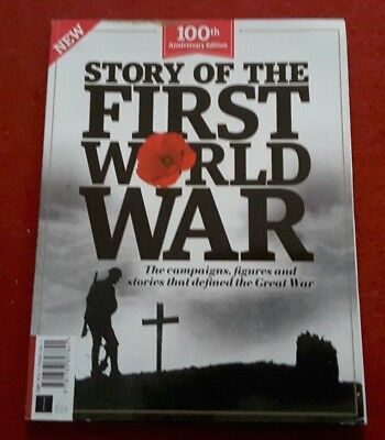 100th Anniversary Edition Story Of The First World War Magazine