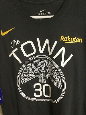 """reputable site 46476 c6581 AUTHENTIC NIKE STEPHEN Curry Golden State Warriors """"The Town"""" MSRP $35.00  +TX"""