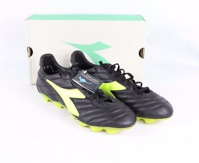413f9313 VINTAGE NEW DIADORA Mens 11.5 Attiva RTX Kangaroo Leather Soccer ...