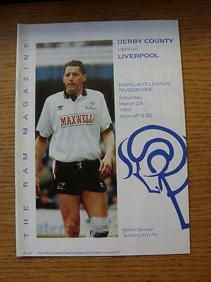 23/03/1991 Derby County v Liverpool  (No Apparent Faults)