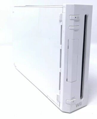Nintendo Wii White RVL-001 Replacement Console Only Gamecube Compatible EXTRAS!