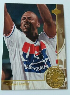 1993 - 94 Upper Deck USA All Time Greats Michael Jordan #85