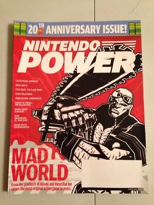 Nintendo Power Magazine V231 August 2008 Mad World, 20th Anniversary Issue