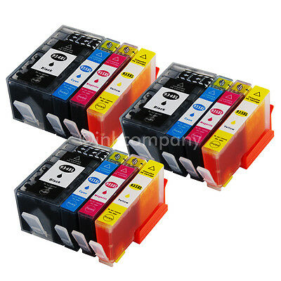 12x Cartucce per hp 934 XL + hp 935 XL Officejet pro 6230 6800 Serie 6820 6830