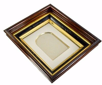 Antique Victorian Eastlake Shadow Box Picture Frame 4 Tier
