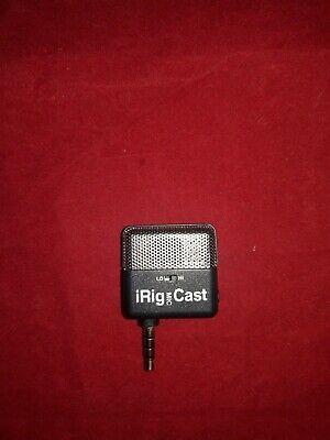 NEW iRig Mic Cast Voice Recording No Package