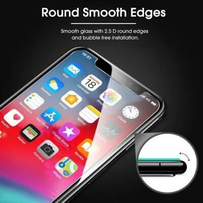 3-Pack Premium Screen Protector Tempered Glass Film For iPhone 7 8 Plus X Xs MaX