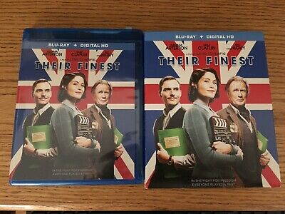 Their Finest Blu-ray Region A With Slip Cover British WW II Homefront