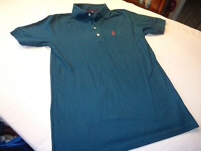 Polo By Ralph Lauren Size L  36'' Chest Teal Soft Feel Short Sleeve Top Vgc