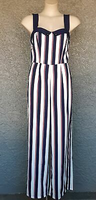 Jumpsuit pinstriped 'Set Sail' by Banned Apparel